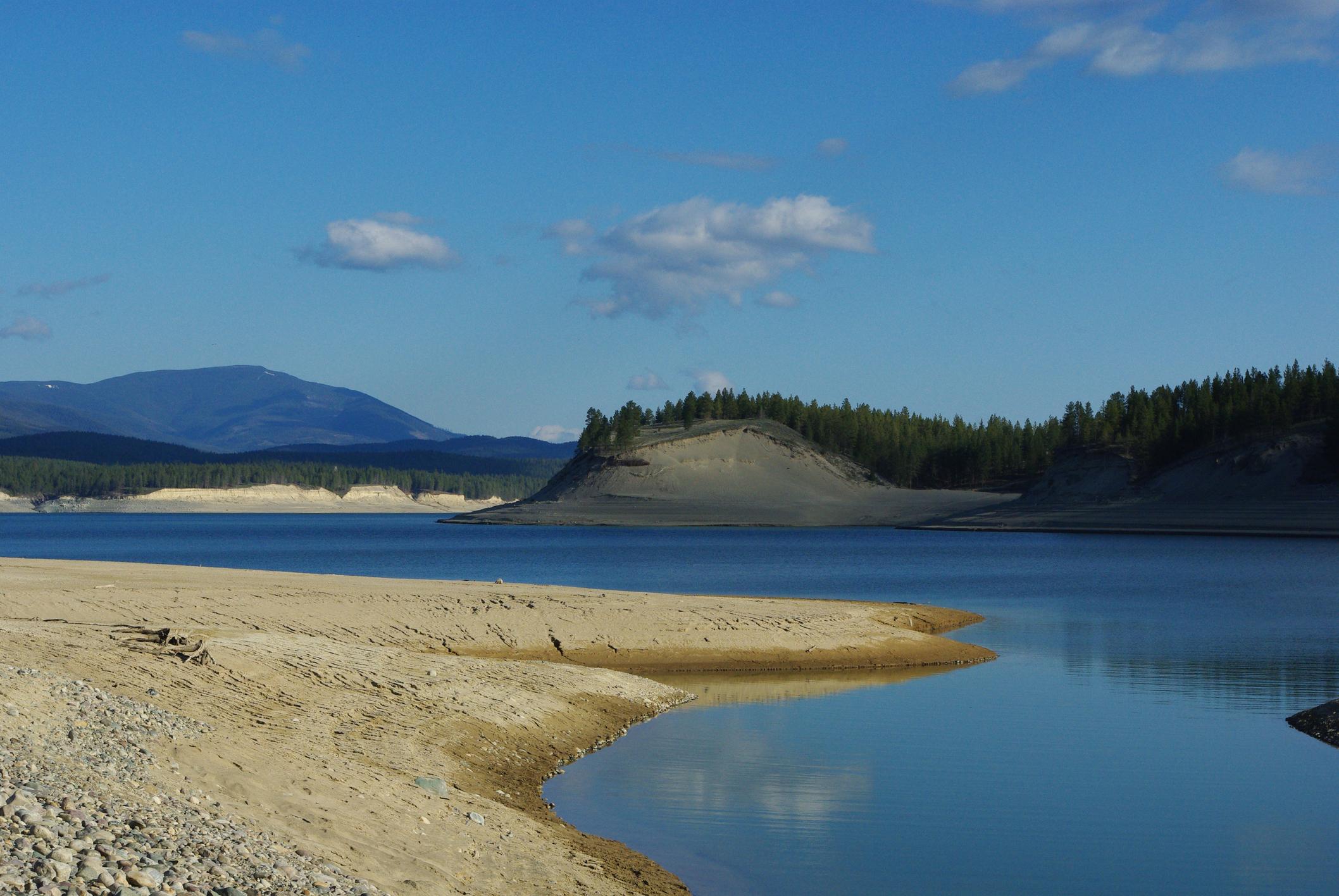 Lake Koocanusa Shoreline Mapping