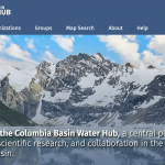Water Hub is the new home for Columbia Basin water data